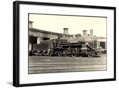 Foto Deutsche Personenlok Nr. 38 303 Sachsen, Tender--Framed Giclee Print