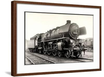 Foto Deutsche Einheitslok Nr. 03 1014, Tender--Framed Giclee Print