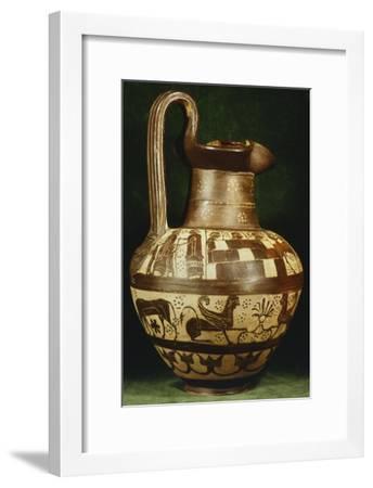 Oinochoe--Framed Giclee Print