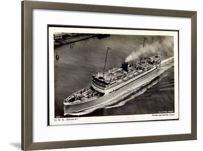 Dampfer D.M.S. Baloeran, Rotterdamsche Lloyd--Framed Giclee Print