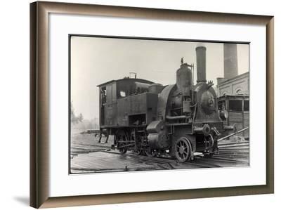 Foto Deutsche Dampflok Nr. 98 7201--Framed Giclee Print