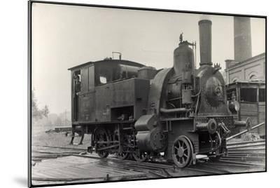 Foto Deutsche Dampflok Nr. 98 7201--Mounted Giclee Print