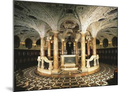 Italy, Milan Cathedral, Circular Crypt--Mounted Giclee Print