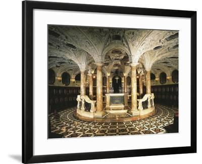 Italy, Milan Cathedral, Circular Crypt--Framed Giclee Print