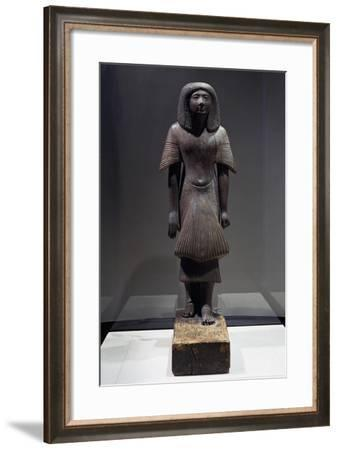 Statue of Piay, Ca 1300 BC--Framed Giclee Print