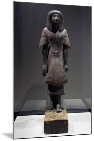 Statue of Piay, Ca 1300 BC--Mounted Giclee Print