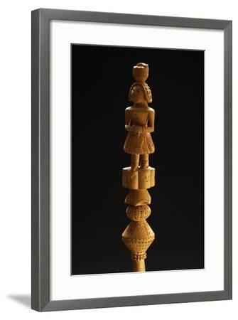 Distaff, Palmi Folk Art, Calabria, Italy--Framed Giclee Print