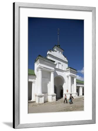 Russia, Suzdal, Gostiny Dvor or Shopping Arcade--Framed Giclee Print