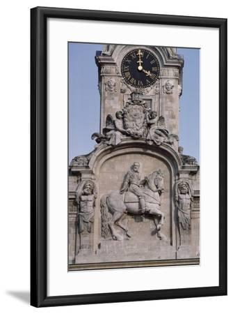 Civic Tower of Town Hall, Lyon, Rhone-Alpes, France--Framed Giclee Print