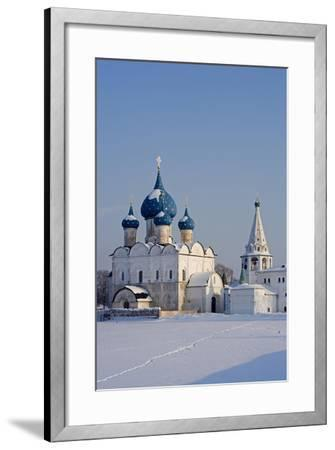 Russia, Golden Ring, Sudzal, Cathedral of Nativity of Virgin--Framed Giclee Print