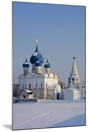 Russia, Golden Ring, Sudzal, Cathedral of Nativity of Virgin--Mounted Giclee Print