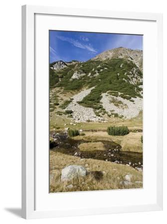 Bulgaria, Pirin Mountains, Pirin National Park, Distant Mountain--Framed Giclee Print