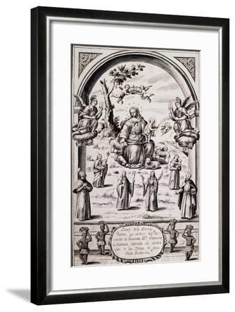 Image of Virgin to Be Used to Convert Indians from Chaco Gualanda in Tucuman, Argentina, 1767--Framed Giclee Print