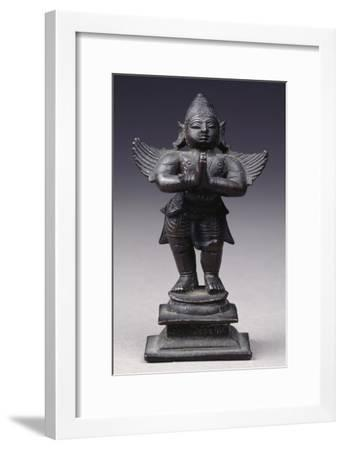 Garuda, Bronze Statue from South-Central India--Framed Giclee Print