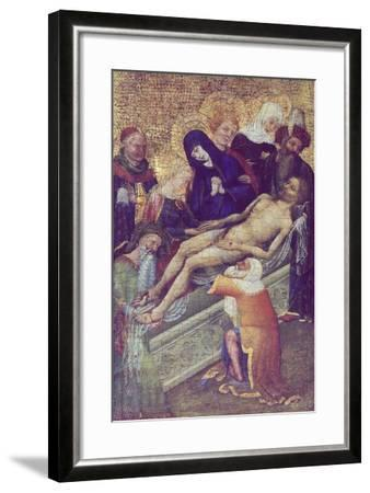 Deposition of Christ in Tomb, France--Framed Giclee Print