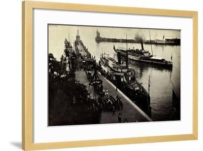 Foto Friedrich V Baden, Kaimau N. Konstanz, Bestattung--Framed Giclee Print