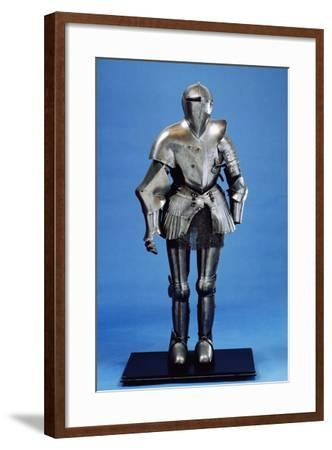 Field Armor Made in Third Quarter of 16th Century Italy, 16th Century--Framed Giclee Print