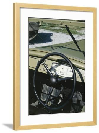 Colonial Auto Launch, 1939--Framed Giclee Print