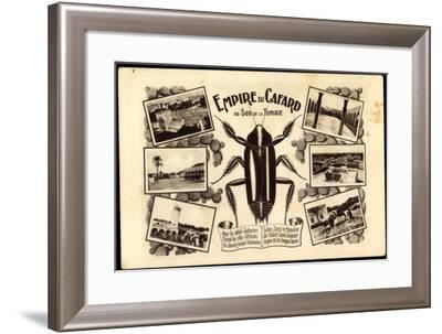 Tunesien, Empire Du Cafard, Küchenschabe, Sahara, Afrika--Framed Giclee Print