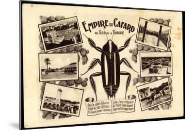 Tunesien, Empire Du Cafard, Küchenschabe, Sahara, Afrika--Mounted Giclee Print