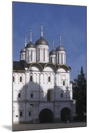 Russia, Moscow Region, Moscow, Kremlin, Cathedral of Assumption--Mounted Giclee Print