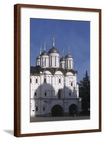 Russia, Moscow Region, Moscow, Kremlin, Cathedral of Assumption--Framed Giclee Print