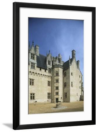 France, Centre Montsoreau Castle Fortress--Framed Giclee Print