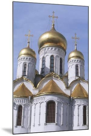 Russia, Moscow Region, Moscow, Kremlin, Cathedral of Annunciation--Mounted Giclee Print