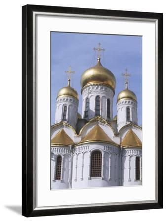 Russia, Moscow Region, Moscow, Kremlin, Cathedral of Annunciation--Framed Giclee Print