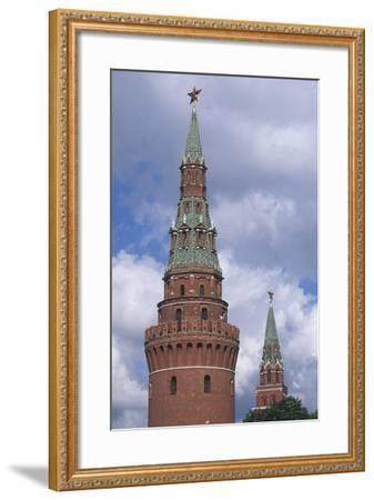 Russia, Moscow Region, Moscow, Kremlin, Water Tower--Framed Giclee Print