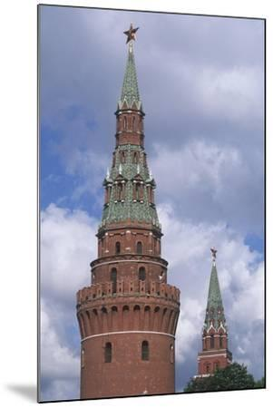 Russia, Moscow Region, Moscow, Kremlin, Water Tower--Mounted Giclee Print