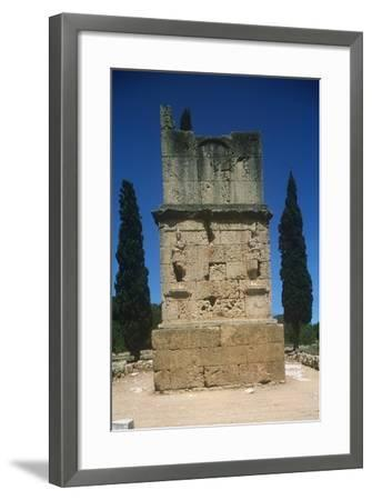 Spain, Catalonia, Tarragona, Tower of the Scipios--Framed Giclee Print