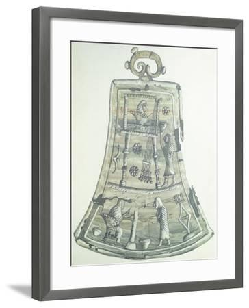 A Reconstructed Tintinnabulum. Etruscan Civilization, 9th-1st Century BC--Framed Giclee Print