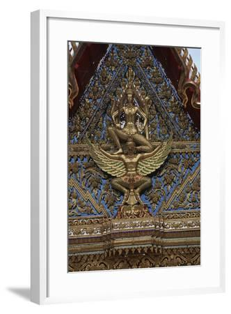 Thailand, Bangkok, Chinese Reliquary Nearby the Floating Market--Framed Giclee Print