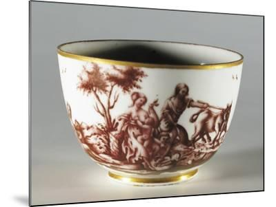 Cup, 1770, Porcelain, Ginori Manufacture, Doccia, Sesto Fiorentino, Tuscany, Italy--Mounted Giclee Print