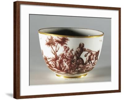 Cup, 1770, Porcelain, Ginori Manufacture, Doccia, Sesto Fiorentino, Tuscany, Italy--Framed Giclee Print