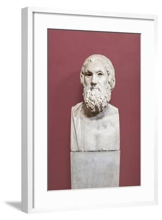 Portrait of Sophocles, Farnese Type, Vatican Museums, Rome, Italy--Framed Giclee Print