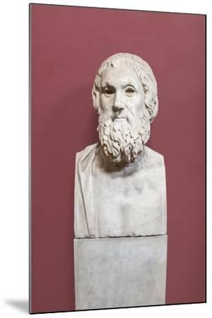Portrait of Sophocles, Farnese Type, Vatican Museums, Rome, Italy--Mounted Giclee Print