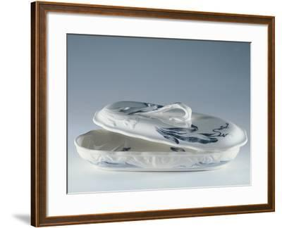 Toiletry Necessities, Porcelain--Framed Giclee Print