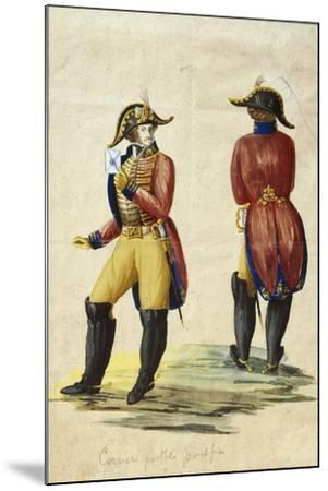 Italy, Uniform of Papal Courier--Mounted Giclee Print