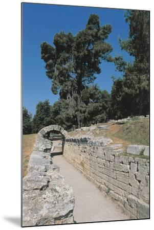 Old Ruins of an Archway, Olympia, Greece--Mounted Giclee Print