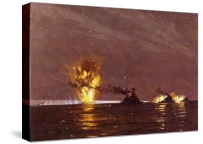 Battle of Cape Matapan, March 28, 1941, World War II, Greece--Stretched Canvas Print