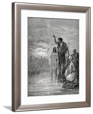 Baptism of Jesus--Framed Giclee Print