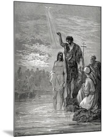 Baptism of Jesus--Mounted Giclee Print