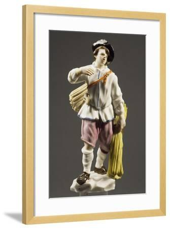 Peasant with Strip of Wood, 1760--Framed Giclee Print