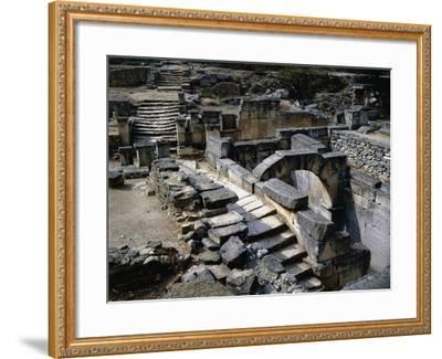 Sacred Spring in Ruins of Glanum, Saint Remy De Provence, France BC--Framed Giclee Print