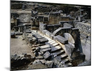 Sacred Spring in Ruins of Glanum, Saint Remy De Provence, France BC--Mounted Giclee Print