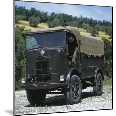 Italian Spa Autocarretta Vehicle, 1940--Mounted Giclee Print