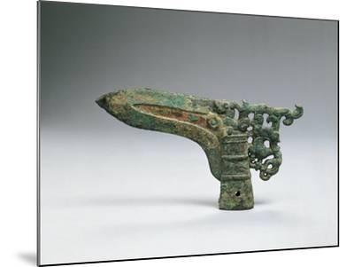 Halberd Axe Blade, Warring States Period--Mounted Giclee Print