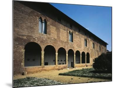 Glimpse of Facade, Villa Guinigi, Lucca, Tuscany, Italy--Mounted Giclee Print